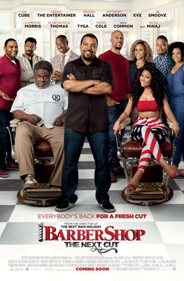 Barbershop: The Next Cut Poster